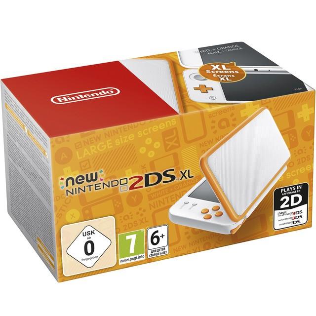 New 2DS XL - White + Orange