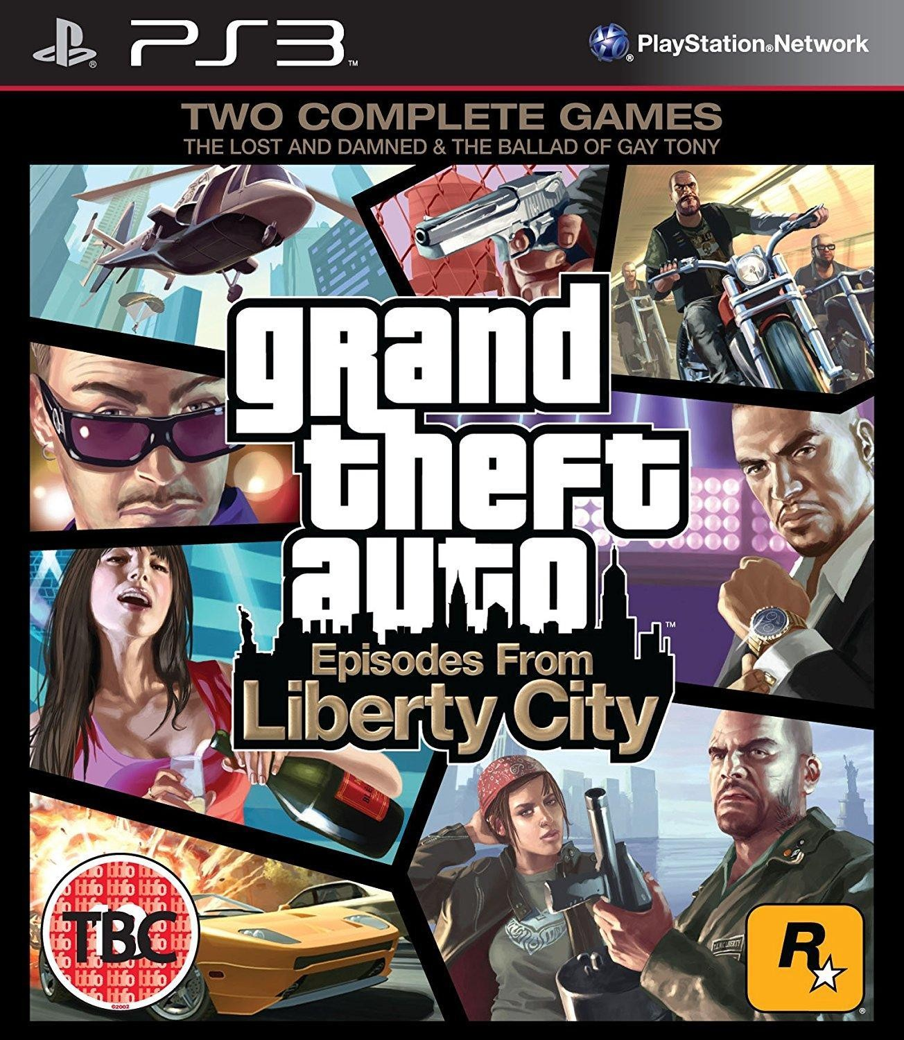 Grand Theft Auto: Episodes From Liberty City | GTA Episodes From Liberty City б/в PS3