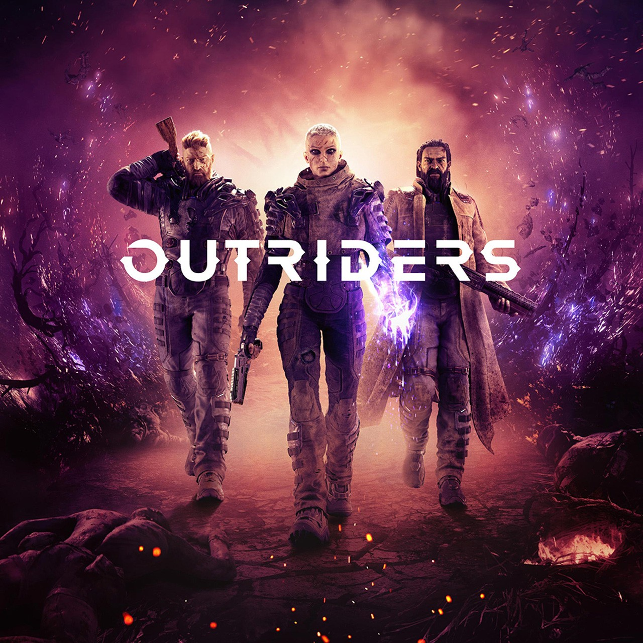 Прокат Outriders від 7 днів PS4/PS5