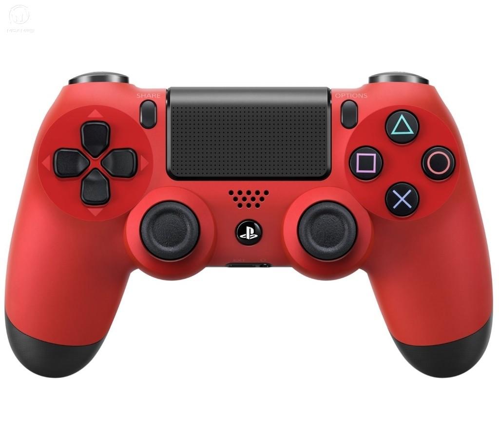 Беспроводной контроллер/джойстик/геймпад DualShock 4 Wireless Controller Magma Red