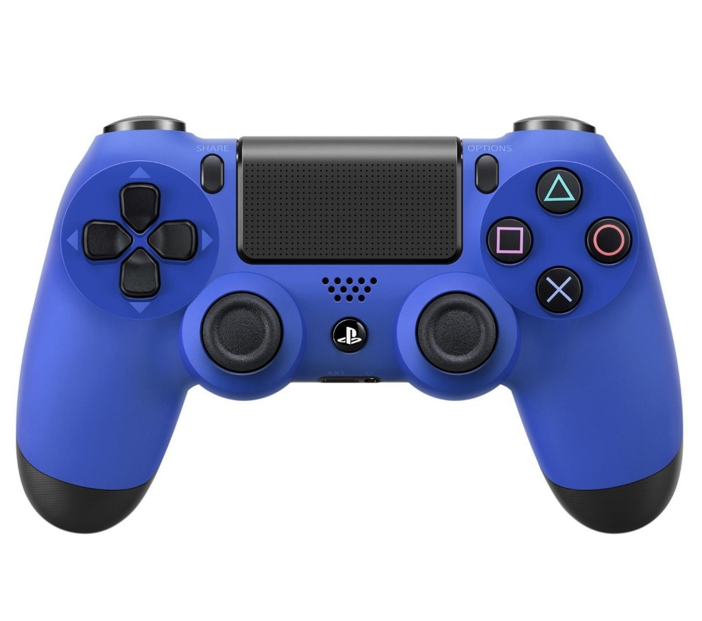 Бездротовий контролер/джойстик/геймпад DualShock 4 Wireless Controller Wave Blue
