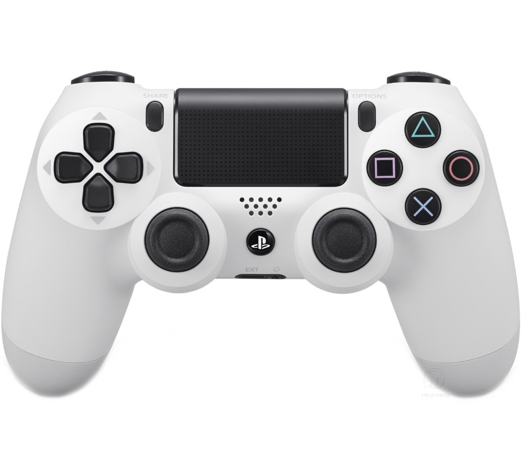 Бездротовий контролер/джойстик/геймпад DualShock 4 Wireless Controller Glacier White
