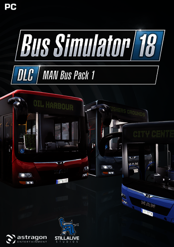 Bus Simulator 18 - MAN Bus Pack 1 PC DIGITAL
