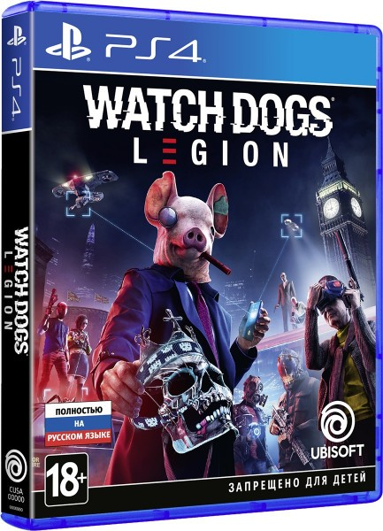 Watch Dogs Legion | Watch Dogs Легіон PS4
