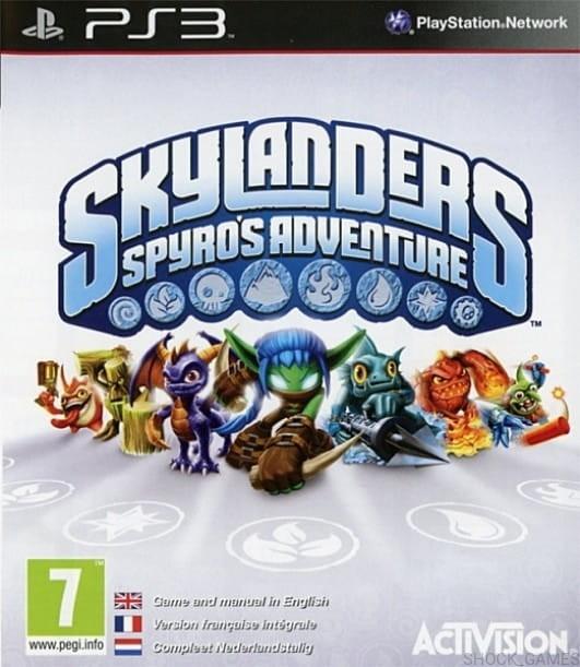 Skylanders Spyro's Adventure б/у PS3