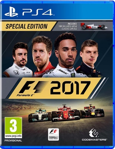 F1 2017. Особое издание PS4