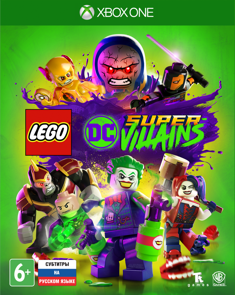 LEGO DC Super-Villains | LEGO Суперзлодеи DC XONE