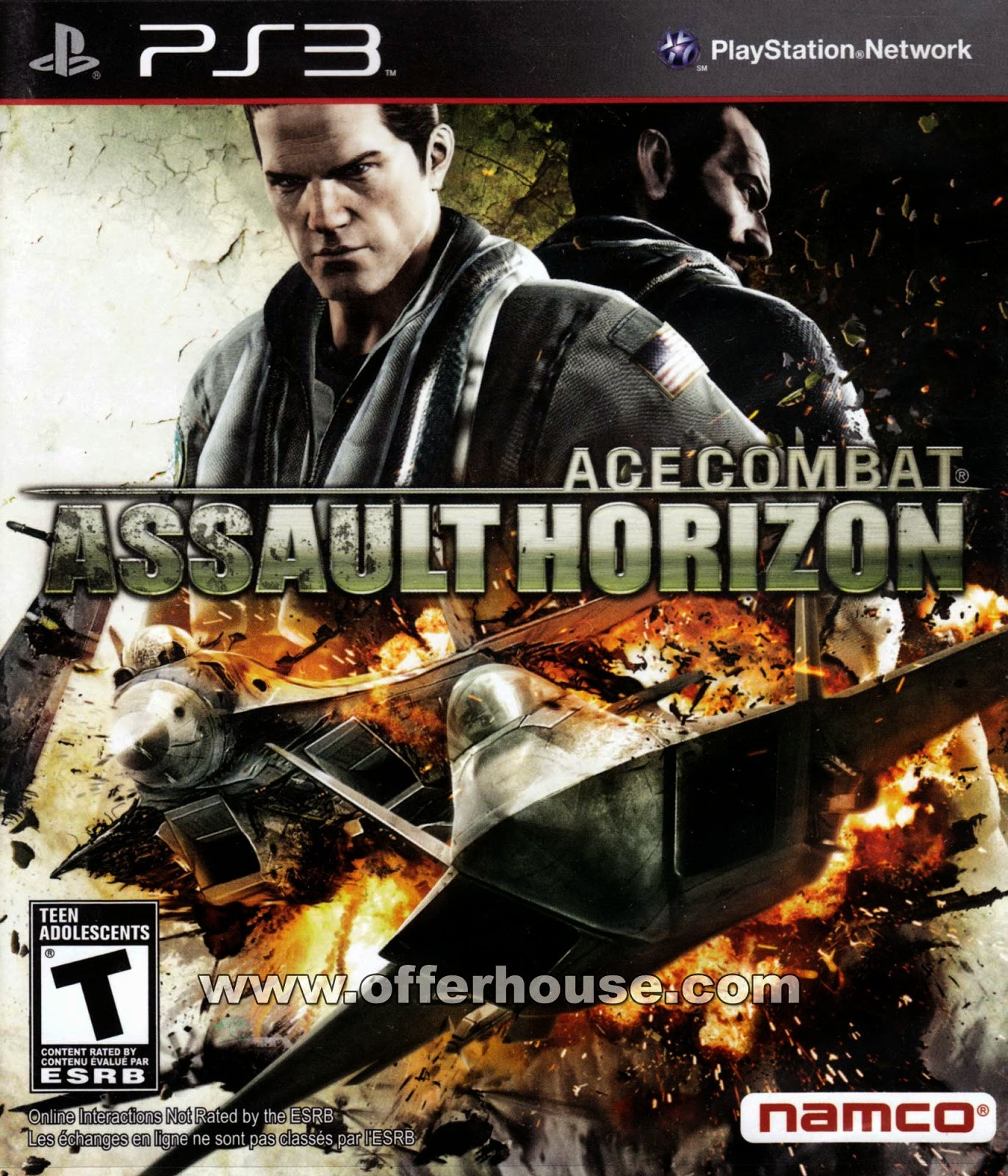 Ace Combat Assault Horizon б/у PS3
