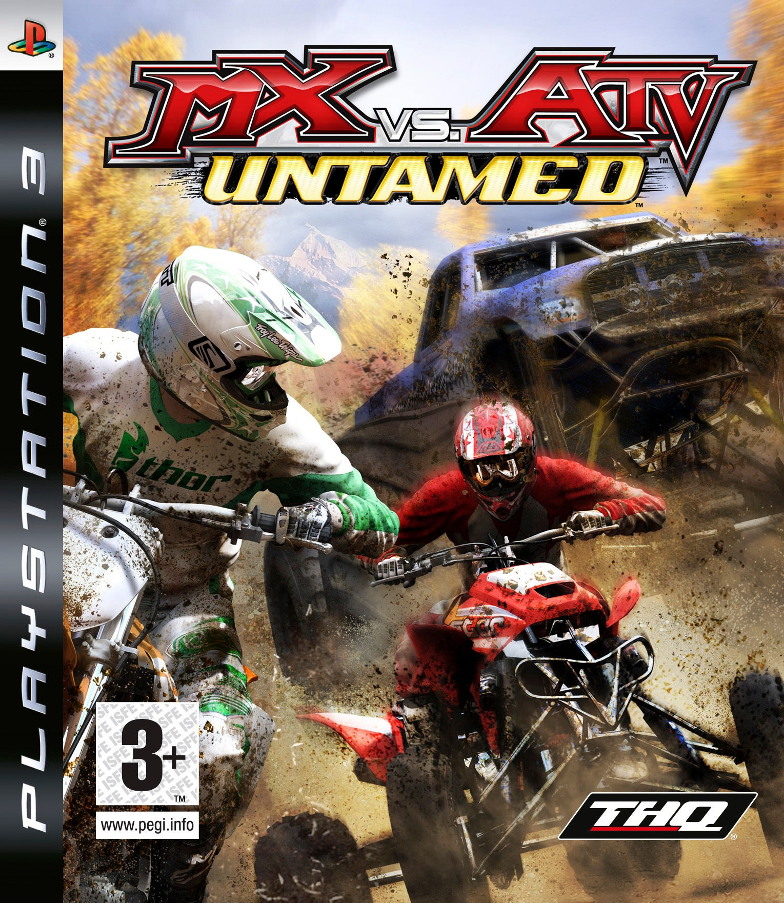 Mx vs ATV Untamed б/в PS3