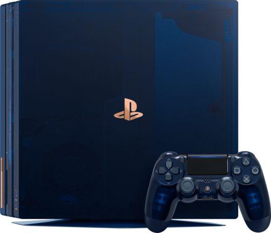 Sony PlayStation 4 Pro 2Tb 500-Million Limited Edition | PS4 Pro 2Tb (синя)