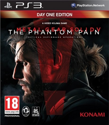 Metal Gear Solid V The Phantom Pain | MGS 5 The Phantom Pain PS3