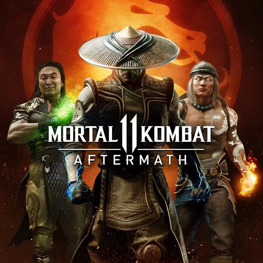 Прокат Mortal Kombat 11 Aftermath Kollection от 7 дней PS4