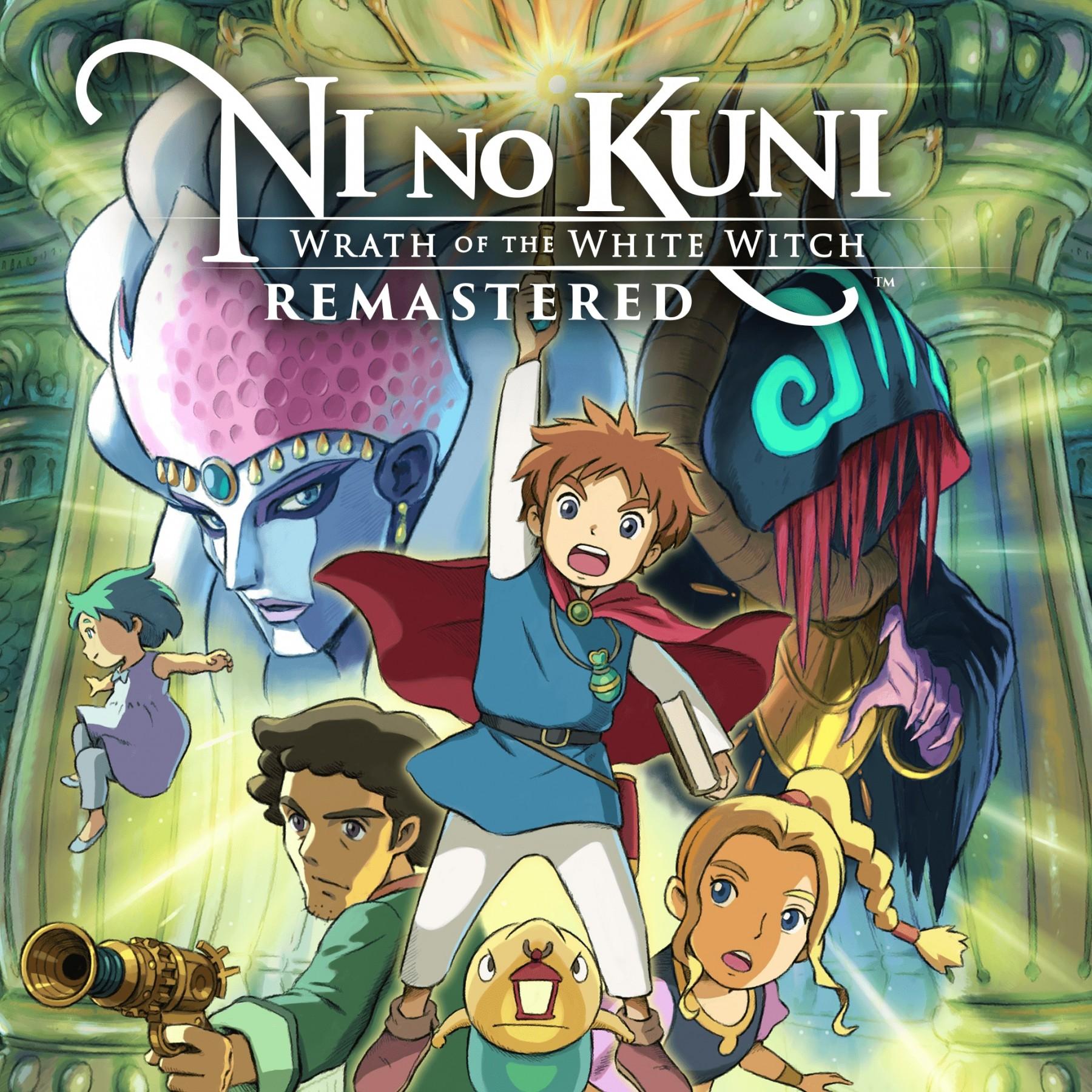 Прокат Ni no Kuni Гнев Белой ведьмы Remastered от 7 дней PS4