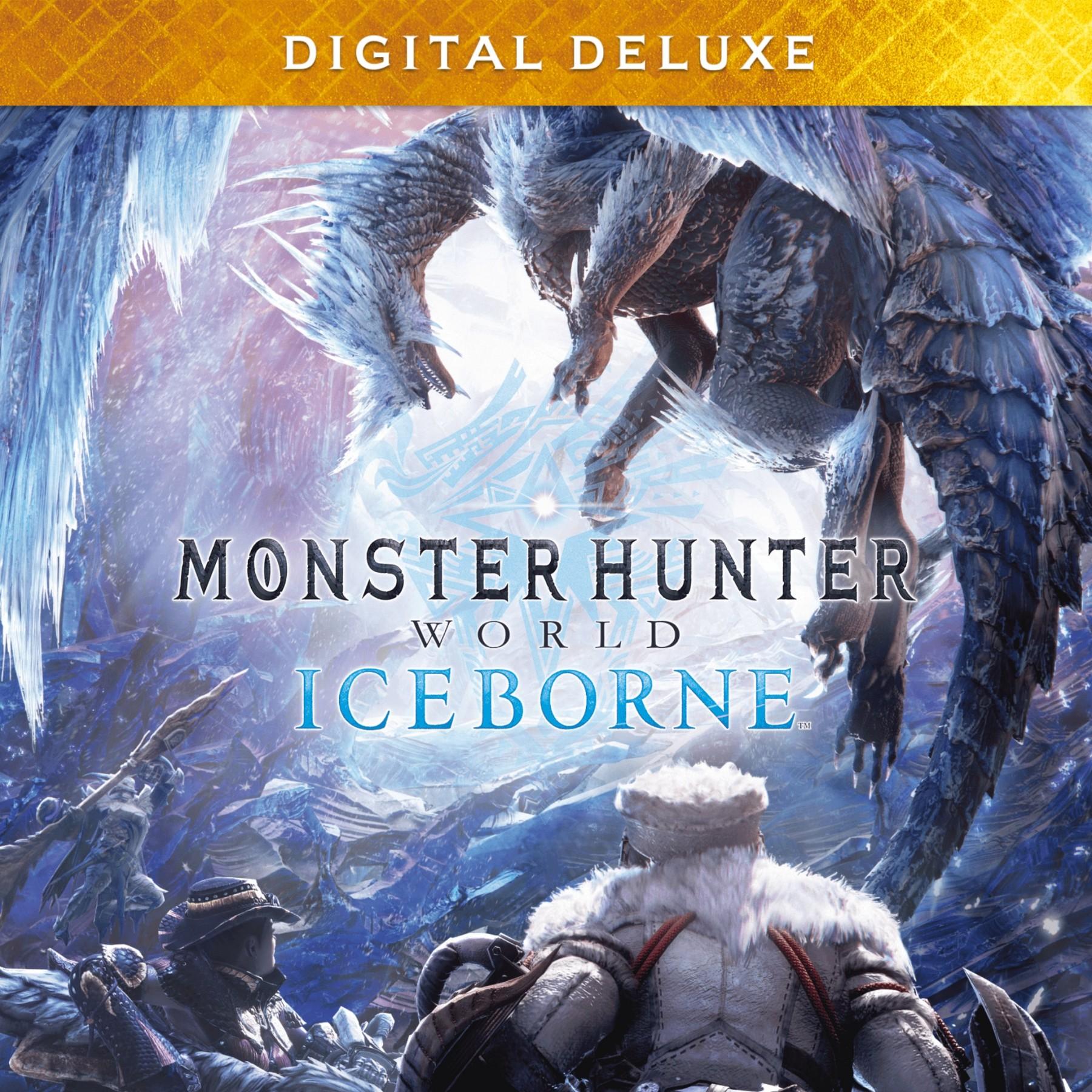 Прокат Monster Hunter World: Iceborne Digital Deluxe от 7 дней PS4