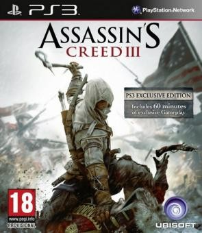 Assassin's Creed 3 б/в PS3