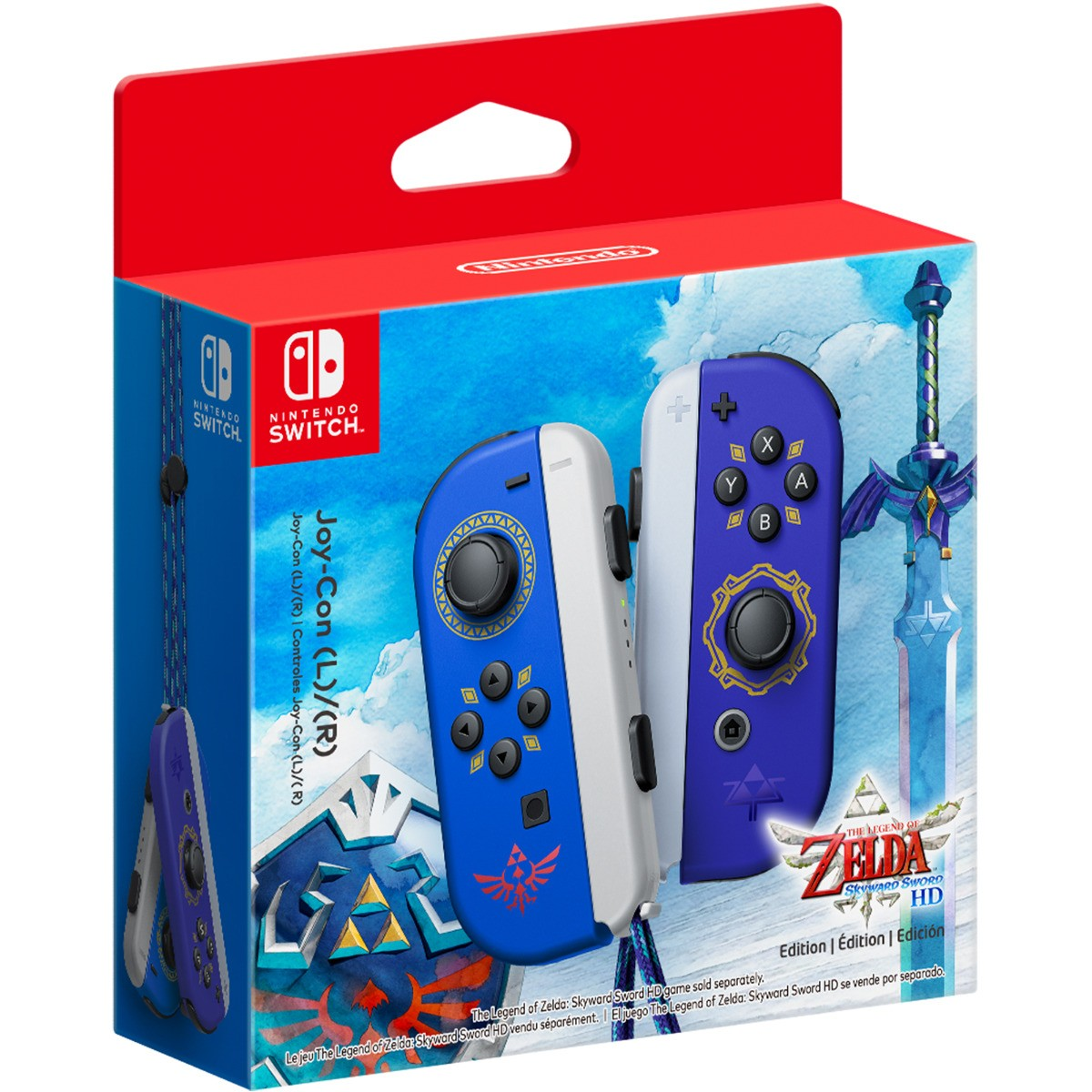 Игровой контроллер/джойстик/геймпад Joy-Con The Legend of Zelda: Skyward Sword HD Edition - SWITCH