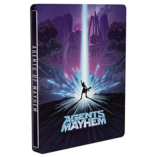 Steelbook Agents of Mayhem | Стилбук