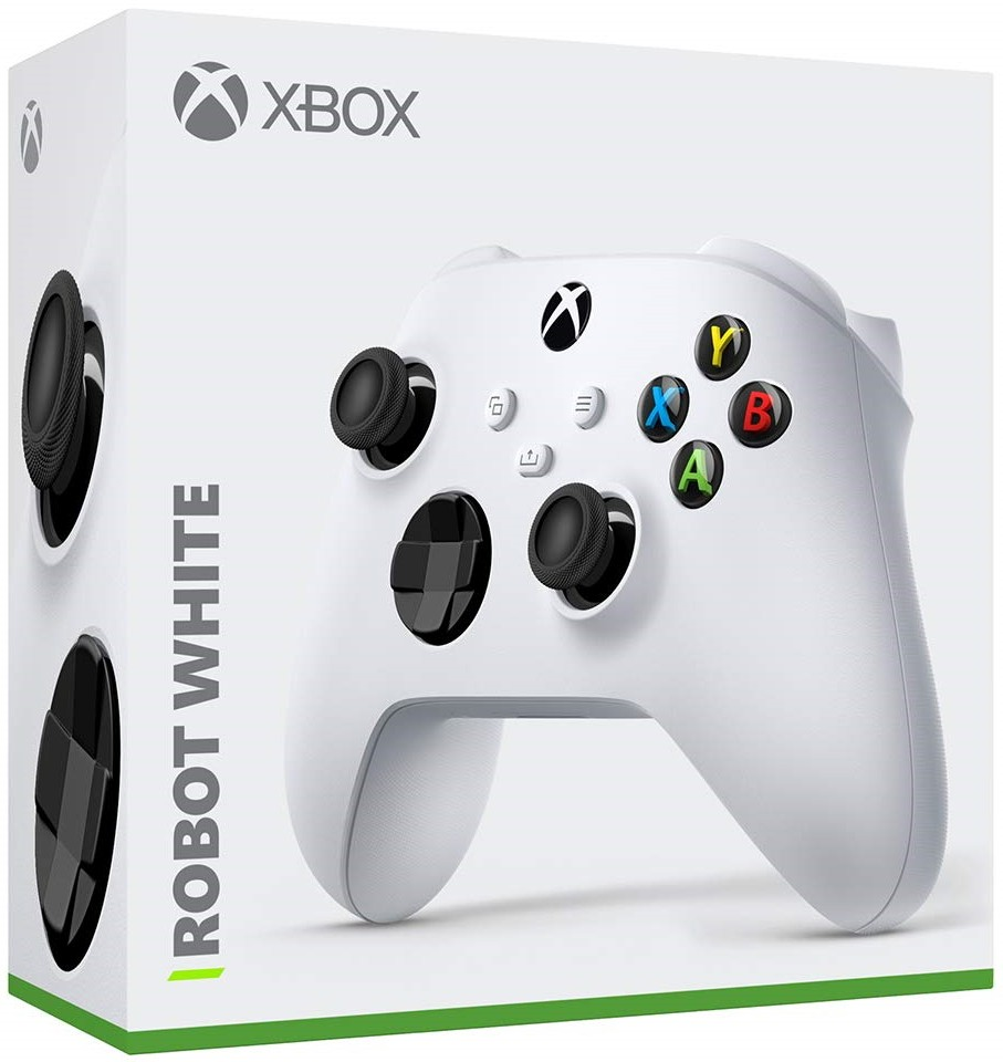 Бездротовий контролер/джойстик/геймпад Xbox Robot White | XBOX SERIES X/S Wireless Controller Robot White