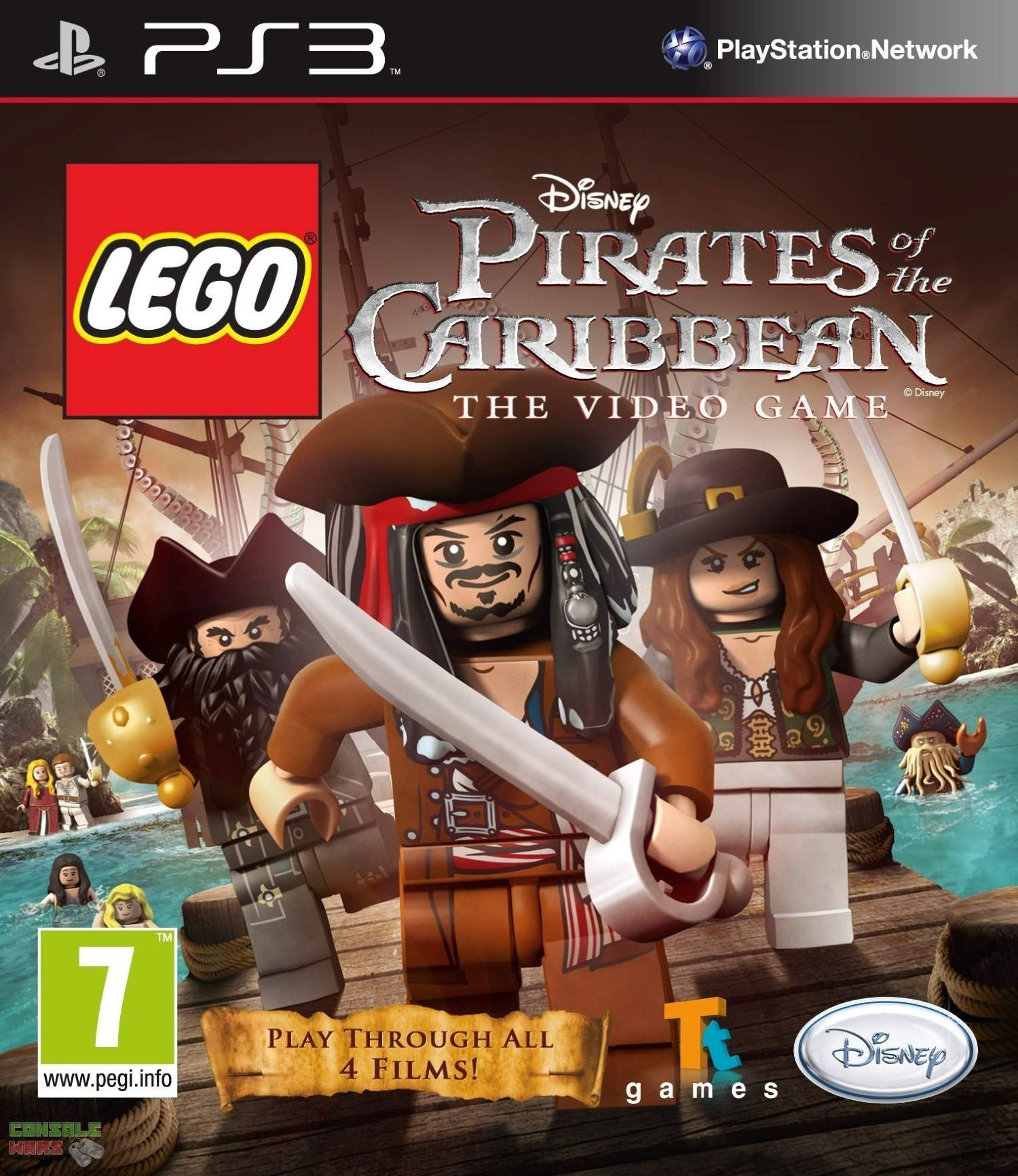 LEGO Pirates of the Caribbean The Video Game | LEGO Пірати Карибського Моря б/в PS3