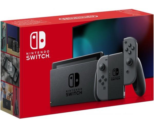 Ігрова консоль Nintendo Switch (сірий) HAC-001 (-01) (Нова ревізія) SWITCH