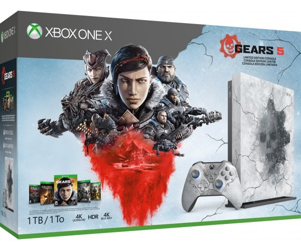 Microsoft Xbox One X 1TB Console – Gears 5 Limited Edition