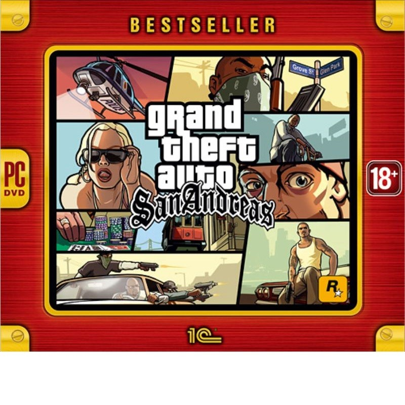 Grand Theft Auto: San Andreas | GTA San Andreas рос.