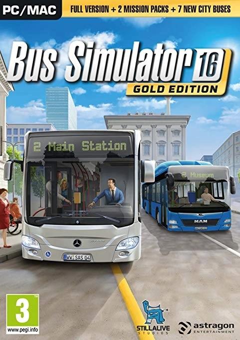 Bus Simulator 16 Gold Edition PC DIGITAL