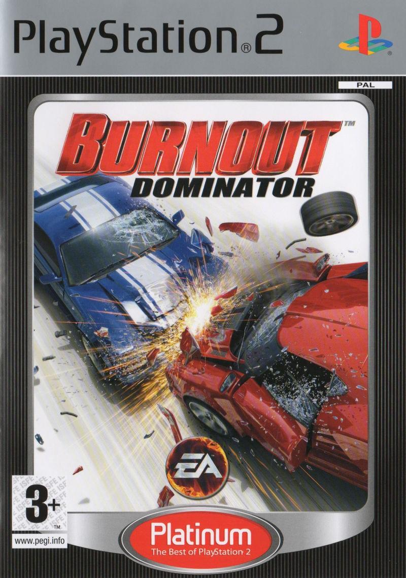 Burnout Dominator Platinum б/у PS2