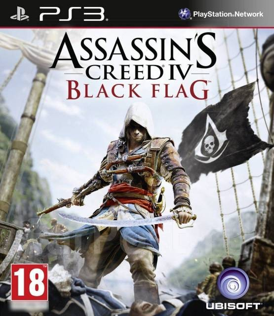 Assassin's Creed IV Black Flag | Assassin's Creed IV Чорний прапор б/в PS3