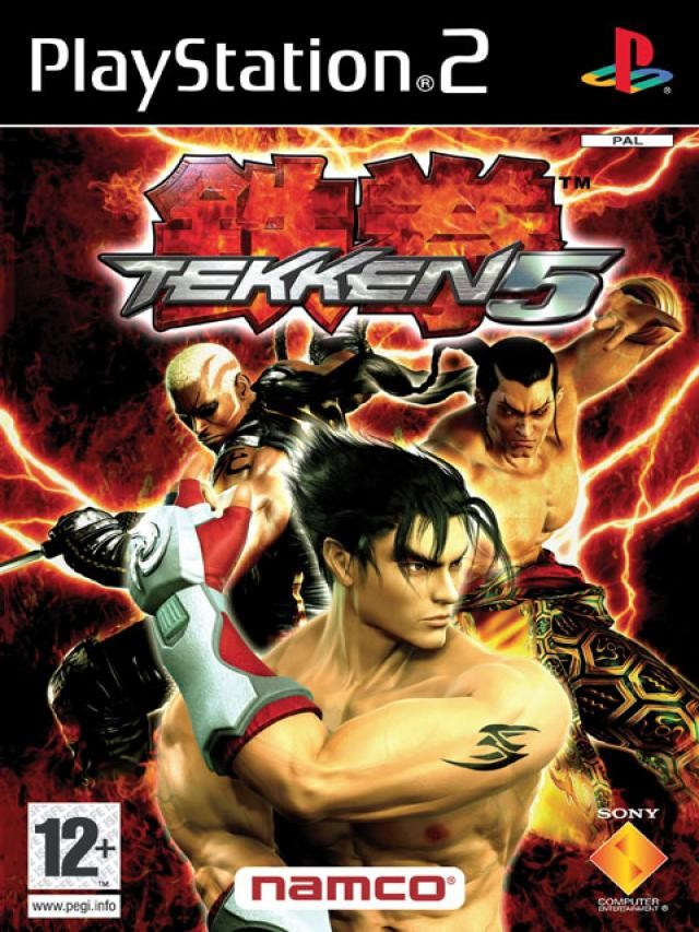 Tekken 5 б/в PS2