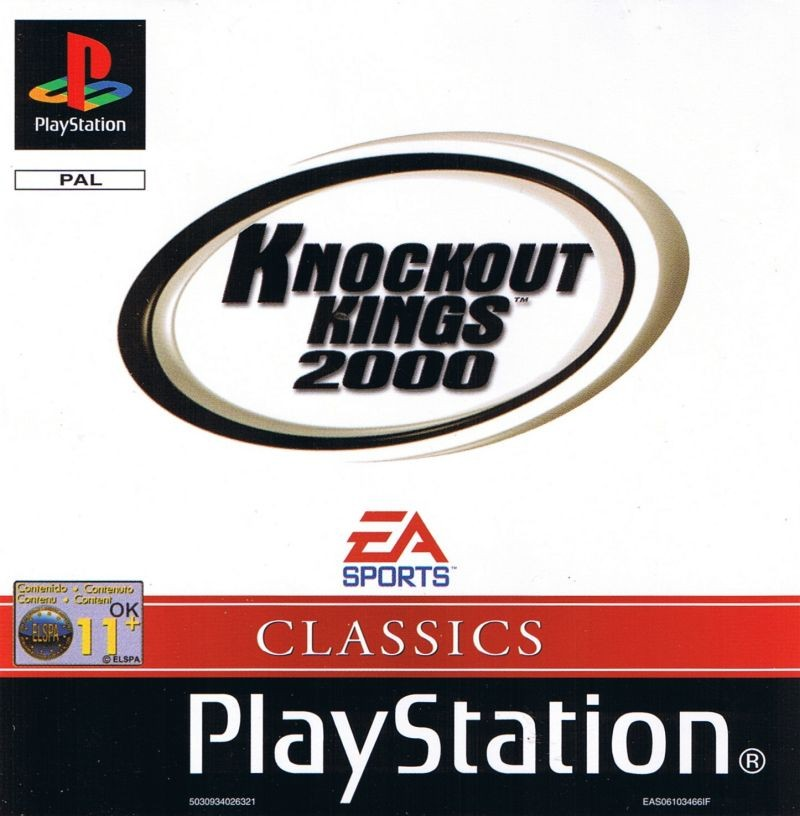 Knockout Kings 2000 б/в PS1