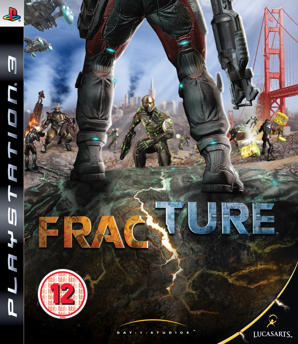 Fracture б/у PS3