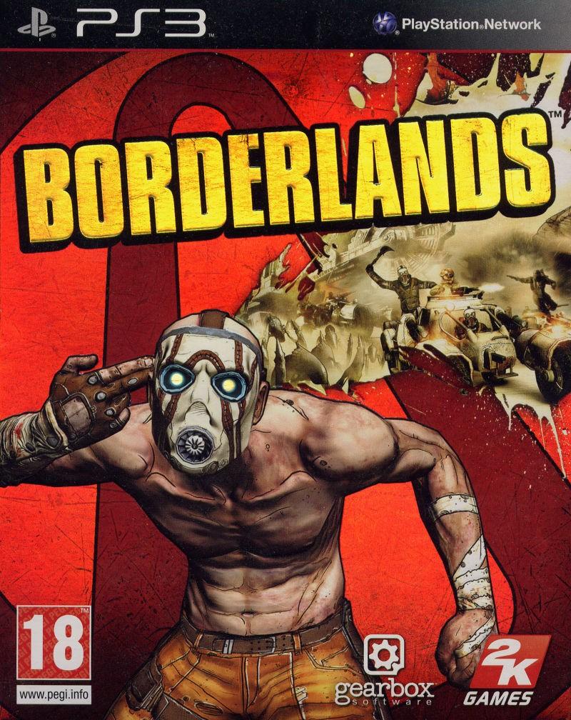 BORDERLANDS б/у PS3