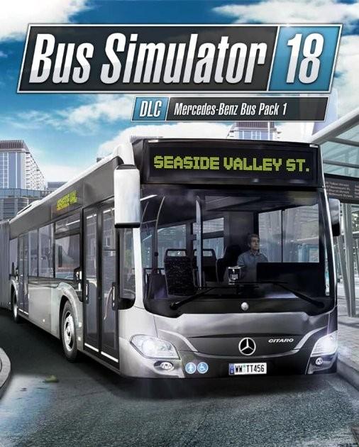 Bus Simulator 18 - Mercedes-Benz Bus Pack 1 PC DIGITAL