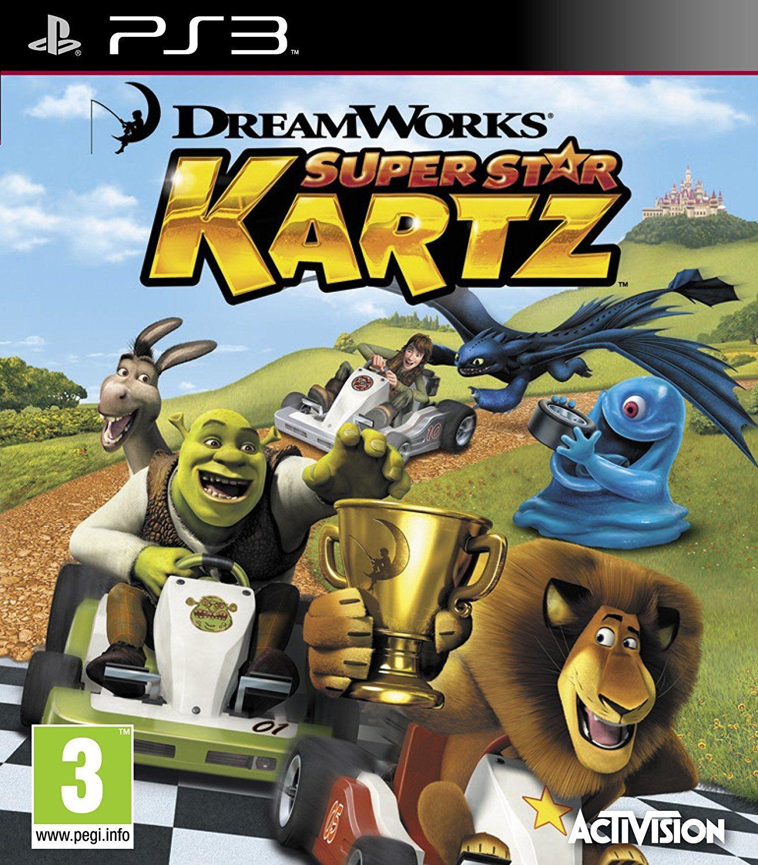 DreamWorks Super Star Kartz б/в PS3
