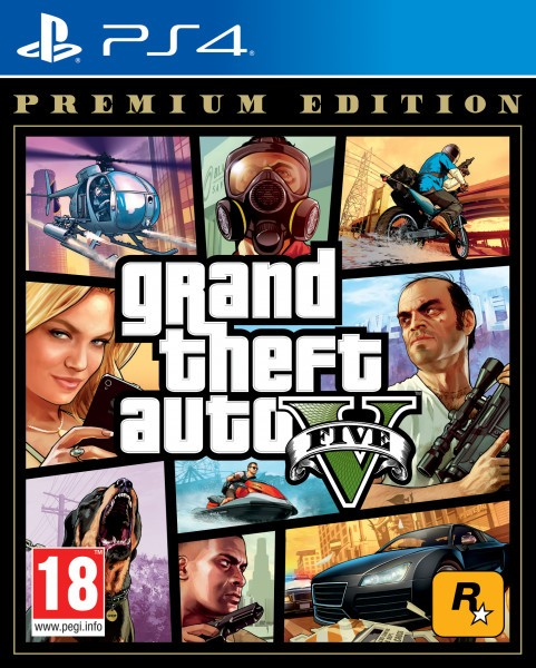 Grand Theft Auto V Premium Edition | GTA 5 PS4