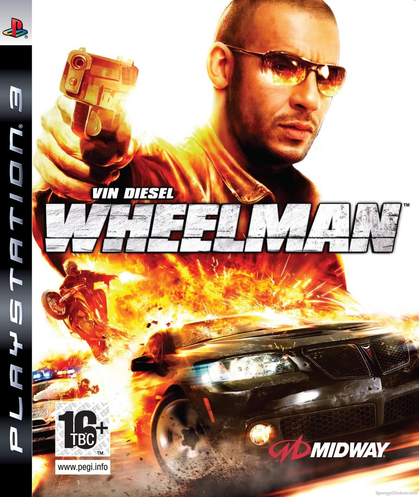 Wheelman б/в PS3