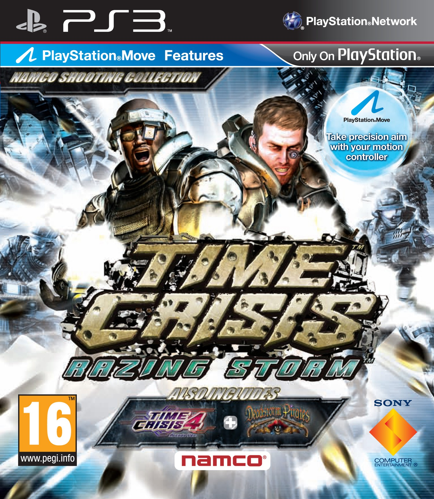 Time Crisis: Razing Storm б/у PS3