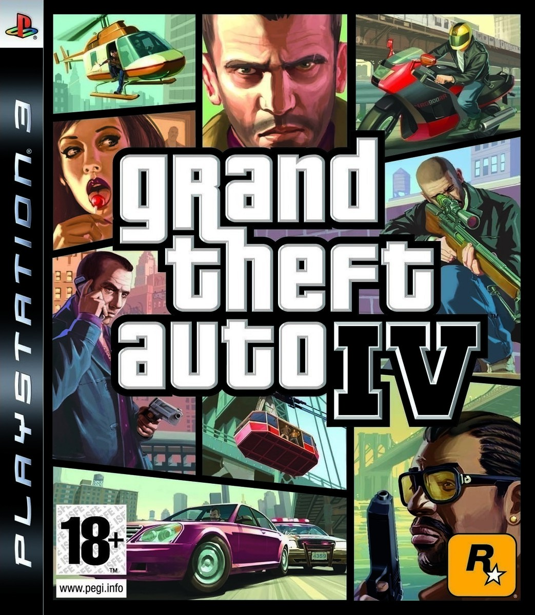 Grand Theft Auto IV | GTA 4 б/у PS3
