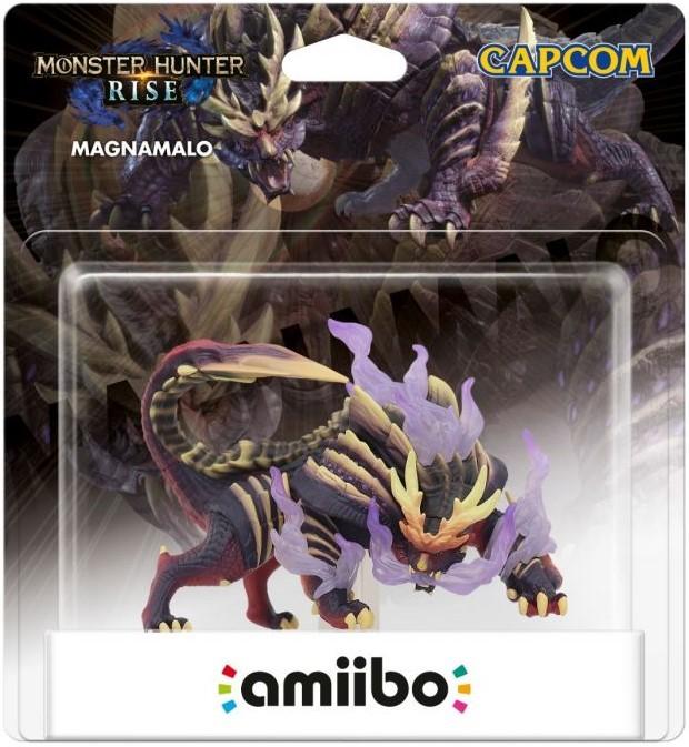 Monster Hunter Rise: Интерактивная фигурка amiibo – Magnamalo