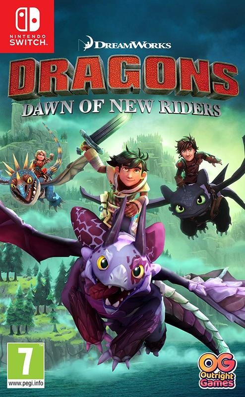 DreamWorks Dragons Dawn of New Riders SWITCH