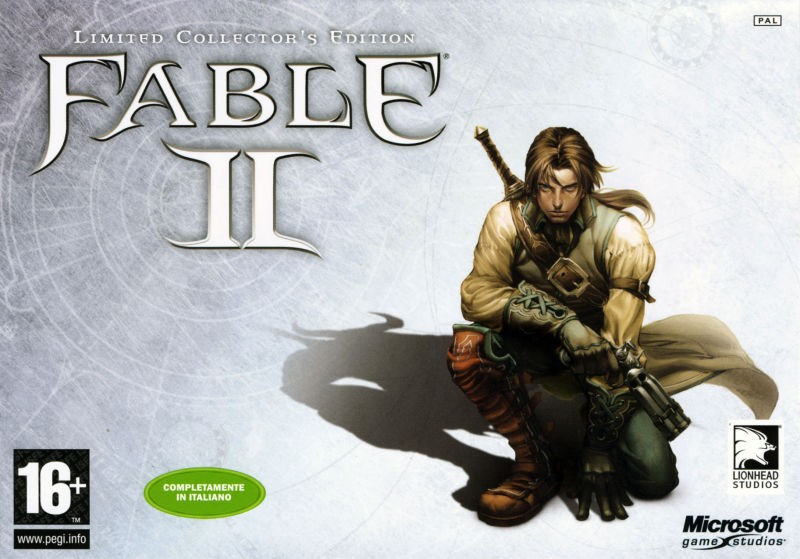 Fable II Limited Collector's Edition | Fable 2 б/в X360