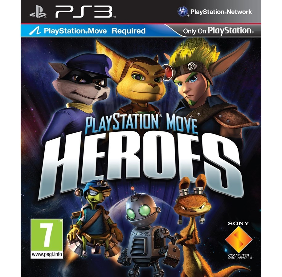 PlayStation Move Heroes б/у PS3