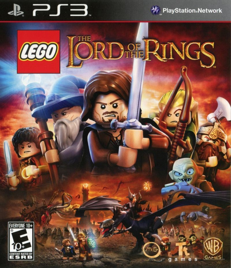 LEGO The Lord of the Rings | LEGO Властелин Колец б/у PS3