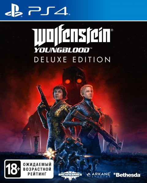 Wolfenstein Youngblood Deluxe Edition б/в PS4