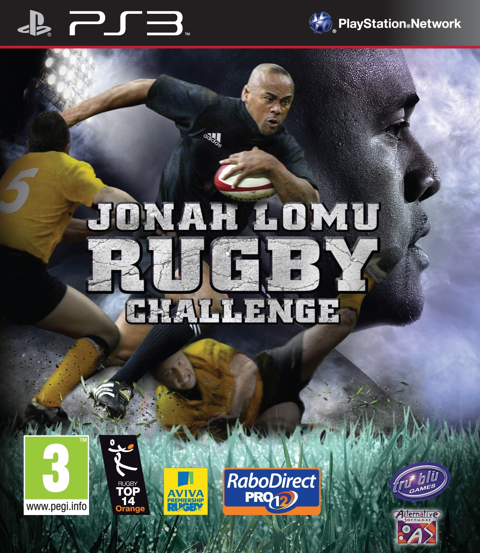 Rugby Challenge б/в PS3