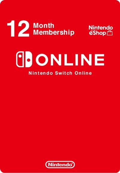 Nintendo Switch Online индивидуальная подписка на 12 месяцев (регион Россия) (код)