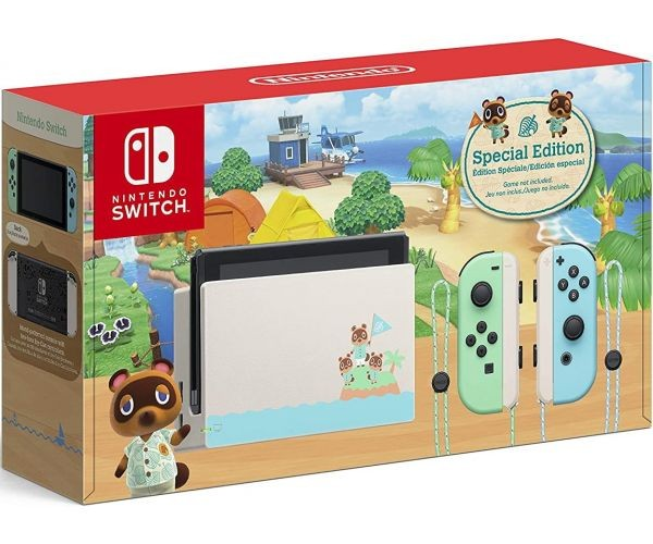 Игровая консоль Nintendo Switch Animal Crossing: New Horizons Edition (Новая ревизия) SWITCH