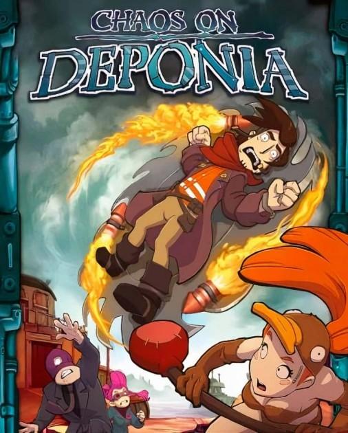 Chaos on Deponia PC DIGITAL