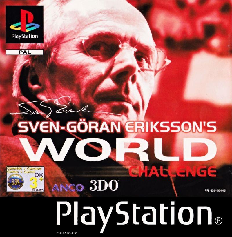 Sven-Göran Eriksson's World Challenge б/у PS1